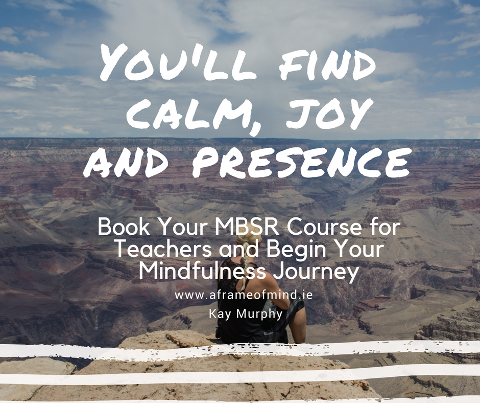 Mindfulness Based Stress Reduction Course For Educators Combat